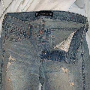 00 (w23) Hollister Vintage Boyfriend Jeans
